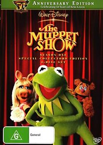 THE MUPPET SHOW (COMPLETE SEASON 1 - DVD SET SEALED + FREE POST)