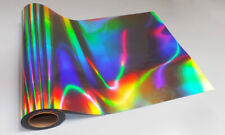 A4 HOLOGRAPHIC EFFECT SILVER INKJET SELF ADHESIVE STICKER VINYL  (20 SHEETS)
