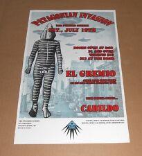 El Gremio & Cabildo Patagonian Invasion Tour Poster UFO's 11x17 Argentina