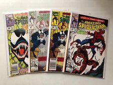 AMAZING SPIDERMAN COMICS LOT #361,362,363 & 362 2ND PRINT! 1ST CARNAGE!