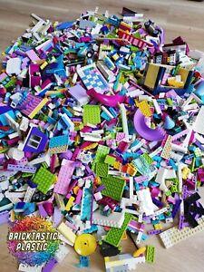 LEGO FRIENDS 1KG (850PC'S!) GIRLS CREATIVITY PACKS BULK + FREE TOOL