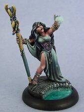 Sarah the Seeress Reaper Miniatures Dark Heaven Legends Wizard Mage Sorceress