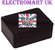 ABS BLACK PLASTIC ELECTRONICS PROJECT BOX ENCLOSURE 79 X 61 X 40MM