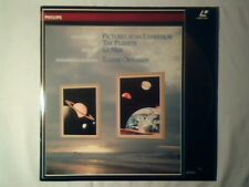 EUGENE ORMANDY Mussorgsky Holst Debussy laserdisc laser disc