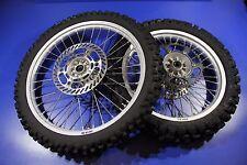 97-98 KX250 KX125 KX500 Wheel Set Front Rear Rim Hub Spokes Rim Sprocket Rotor