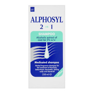 Alphosyl 2-In-1 Medicated Shampoo, 250ml