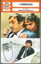 L'EMMERDEUR - Brel,Ventura,Molinaro (Fiche Cinéma) 1973 - A Pain in the A