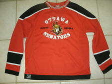 Ottawa Senators NHL Hockey Jersey Red MightyMac Size Youth XL 18 VGUC