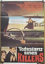 TODESTANZ EINES KILLERS (Kinoplakat '68) - LAURENCE HARVEY / MIA FARROW