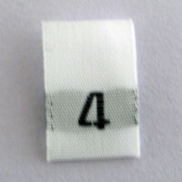 size 11 eleven clothing woven labels tags tabs Qty 100