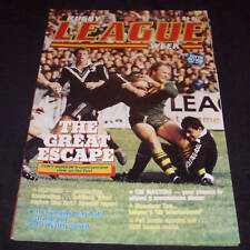 Rugby League Week Newspaper/Magazine Vol 16 No 19  1985