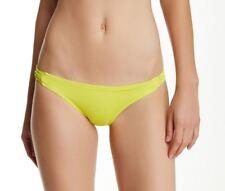 Billabong SOL SEARCHER Womens Cheeky Bikini Bottoms Medium Lemon Lime NEW
