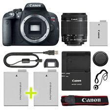 Canon T5i / 700D Digital SLR Camera with 18-55mm IS STM Lens + Backup Power Kit