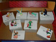 Grolier Disney Ornament DCO Christmas Lot of 8
