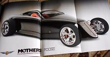 HOT ROD MAGAZINE June 2007- FOOSE/MOTHER'S WAX POSTER; '67 Fastback bodies