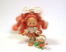 Vintage Peach Blush doll with Peach Berrykin from Strawberry Shortcake 1980s