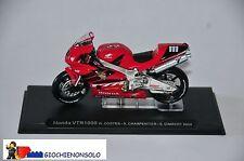 MOTO COLLEZIONE GP14 - HONDA VTR1000 W.COSTES - S.CHARPENTIER - S.GIMBERT ANNO 2
