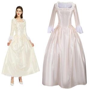 Party Wedding Dress Hamilton Elizabeth Schuyler Costume Victorian Skirt Outfits