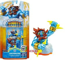 Skylanders Giants LIGHTNING ROD Figure Card Sticker Web Code 2012 NEW