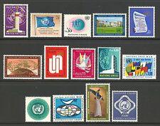 Un-Geneva # 1-14, 1969-1970 Annual Set, Unused Nh