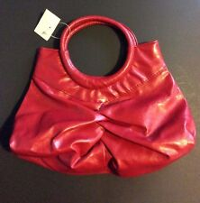 Vintage Victorian Wedding Party Red Handbag Purse  Clutch Evening Bag