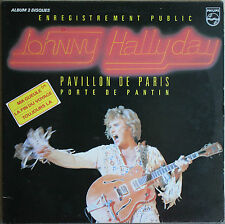 JOHNNY HALLYDAY ENREGISTREMENT PUBLIC.   33T  2LP
