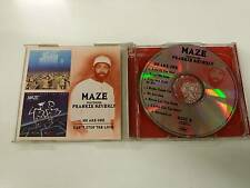 MAZE FEATURING FRANKIE BEVERLY WE ARE ONE - CAN'T STOP THE LOVE 2CD 1999