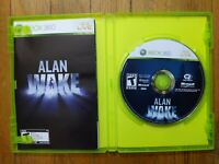 USED - Alan Wake (Microsoft Xbox 360, 2010) - CIB - Free Shipping