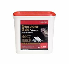 5KG Tub Gold Neosorexa Rat Mouse Bait Rat Poison Gold Ready to Use Kill