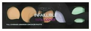 Loreal Infallible Total Cover Full Coverage Concealer Palette