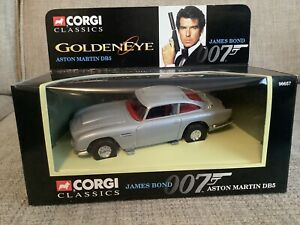 Corgi 96657 - James Bond Goldeneye Car - Aston Martin DB5 - 1:36 - MINT
