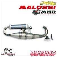 3212115 MARMITTA MALOSSI SCOOTER RACING MHR TEAM PIAGGIO NTT 50 2T LC