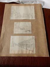 1888  Pencil Drawings HASTINGS      BY    W A LLOYD   --