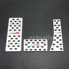 AT Foot Rest Type-R Style Pedals Set for Honda Civic 06-11 07 08 09 10 LHD