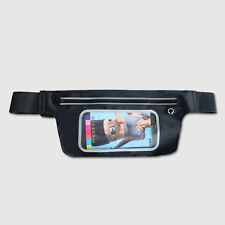 "Sport Adjustable Waist Bag Screen Touch Belt Phone Holder for 3.5""~6""Phones"