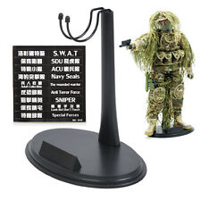 "1/6 Scale Action Figure Base Display Stand U Type For 12"" Very hot toy SWAT ACU"