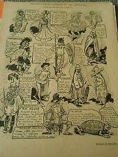 Recette simples commodes et peu couteuses pour se déguiser Humour Print 1899