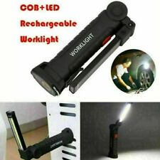 Rechargeable COB LED Work Light Mechanic Work Shop Inspection Lamp Hand Torch