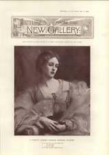 1898 New Gallery Art George Spencer Watson Pretty Woman