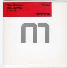 (FG343) Blue Horizon, The Journey - 2002 DJ CD