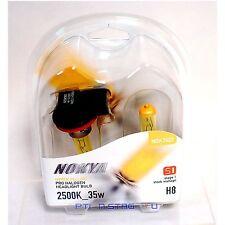 Nokya H8 Hyper Yellow S1 Headlight Fog Light Halogen Light Bulb 1 Pair NOK7623