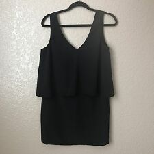 Forever 21 Women's Black Layered Tank Top S