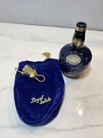 Vintage Royal Salute Scotch Whiskey Bottle Chivas Brothers Wade England Empty