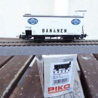 Piko 54224 Kühlwagen mit Bremserhaus FYFFES Bananen neuwertig NS in OVP,KKK +NEM