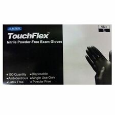 New One Box Of 100 Black Nitrile Powder Free Disposable Non-Sterile Large Gloves