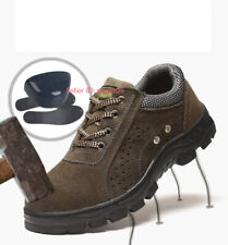 Men Work Safety Boot Hiking Climbing Shoes Non-slip Outdoor Athletic Shoe US7-12