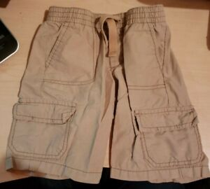 Boys Old Navy Khaki Carpenter Shorts Size 4T