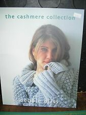 """Debbie Bliss """"The Cashmere Collection"""" 2003 publication 12 projects"""