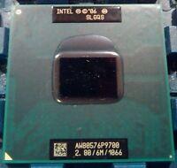 Intel Core 2 Duo  P9700 2.8 GHz 6MB 1066 MHz Socket M,P CPU Processor 100% Teste