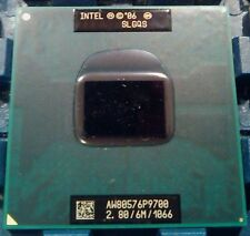 Intel Core 2 Duo  P9700 2.8 GHz 6MB 1066 MHz Socket M,P CPU Processor 100% Teste